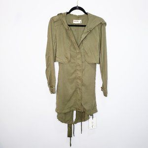 pistola Jackets & Coats - Pistola Sammie Anorak Long Trench Cadet Jacket